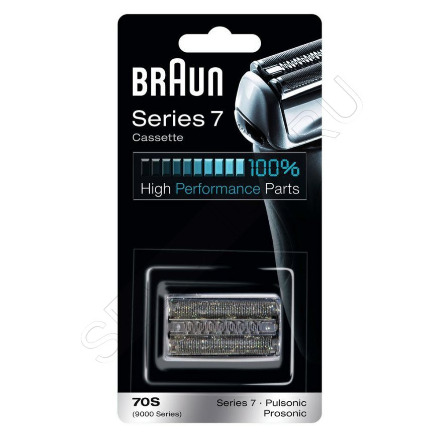 Сетка и режущий блок 70S для бритвы Braun (Браун) Series 7, артикул 81387979